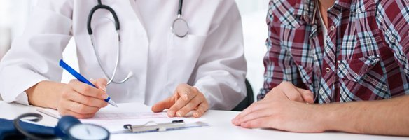 Meeting with doctor