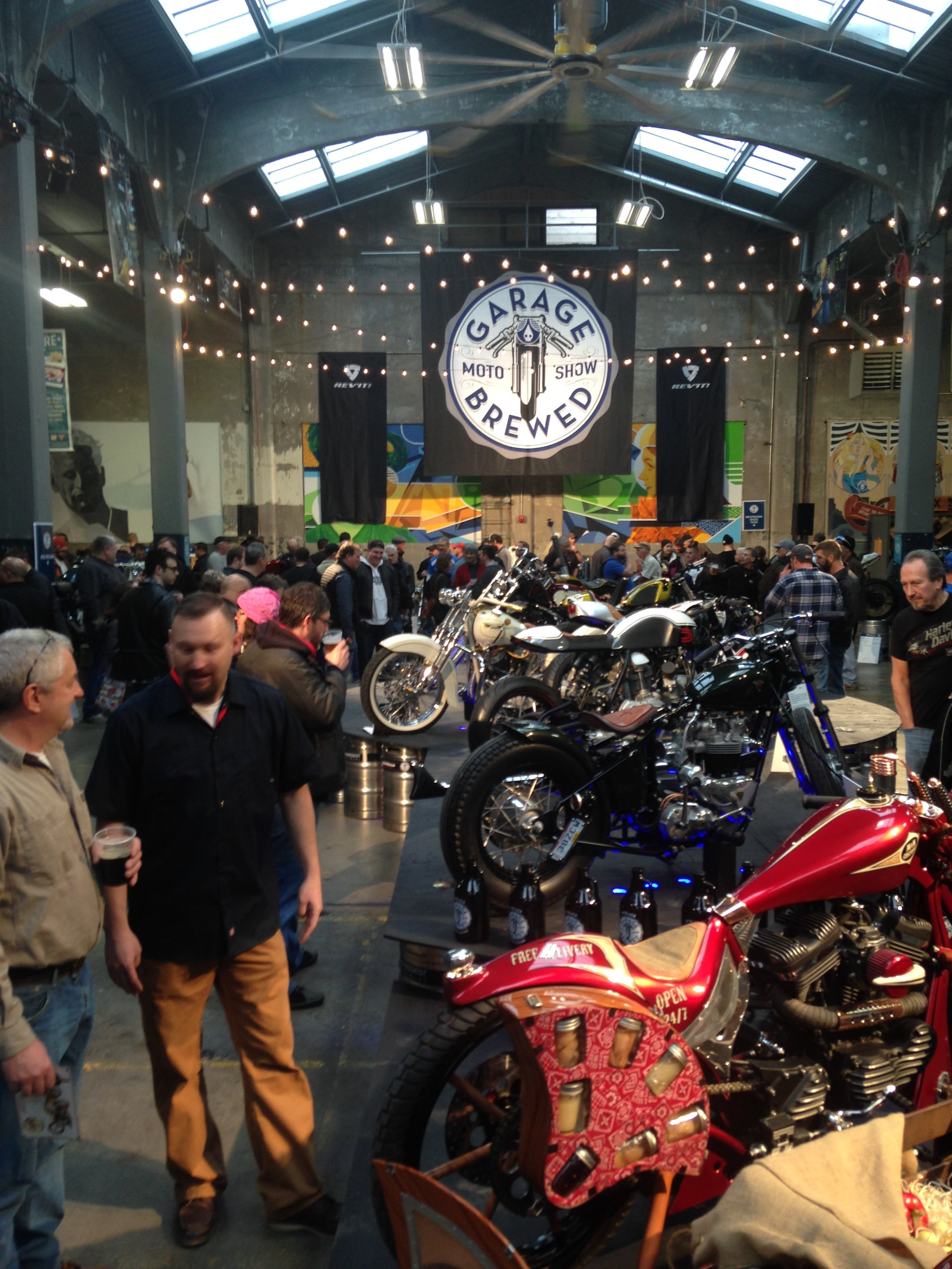 Motorcycle Exhibit | Garage Brewed