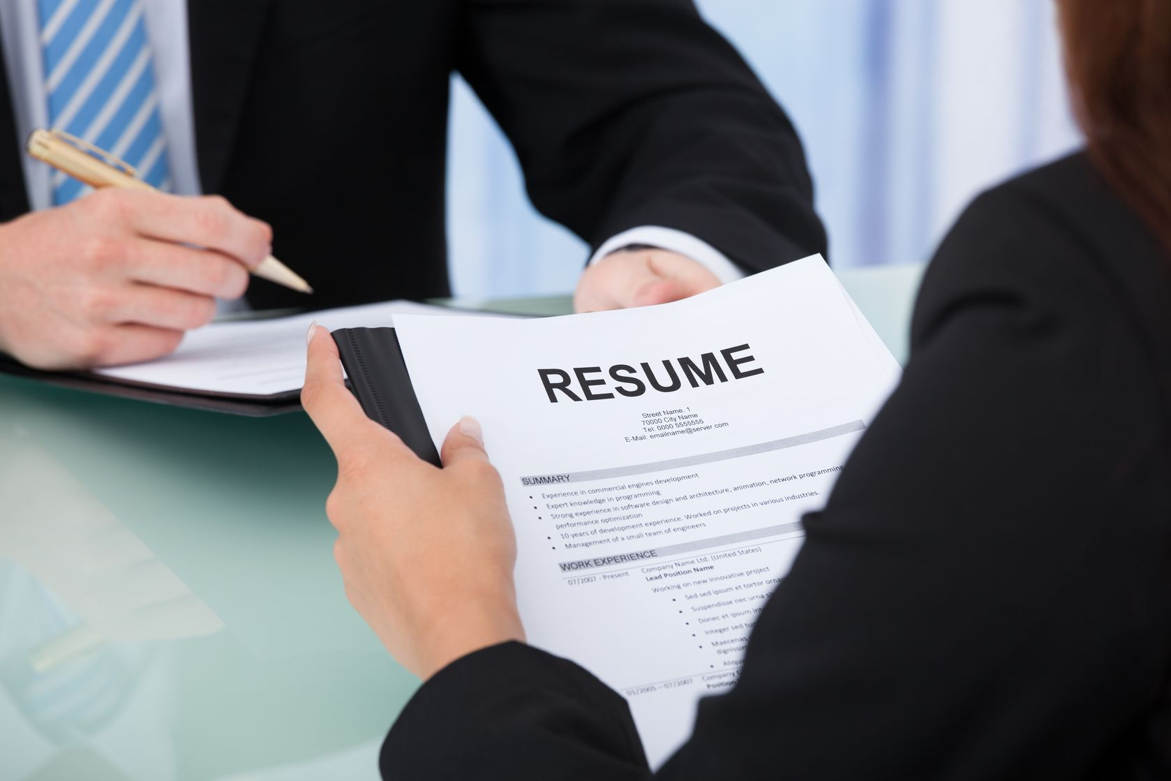Creating a Resume That Will Get YOU Noticed!