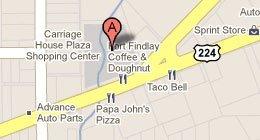 Fort Findlay Coffee & Doughnut Shoppe  1016 Tiffin Ave Findlay, OH 45840