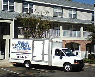 Eagle Carpet Cleaning service vehicle