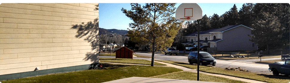 Basketball Court | Rapid City, SD | Cedar Ridge Townhouses | 605-348-5656