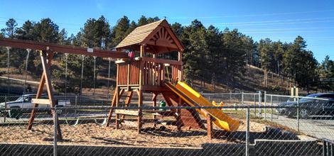 Playground | Rapid City, SD | Cedar Ridge Townhouses | 605-348-5656