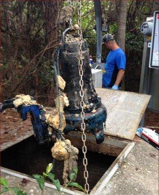 Grinder Pump Replacement | Gulf Breeze, FL | Gulf Breeze Plumbing | 850-932-2693
