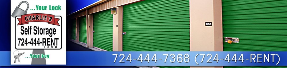 Storage Services - Gibsonia, PA - Charlie's Self Storage