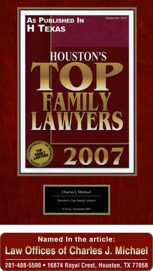Houston, TX Attorney Profile Top Family Lawyers 2007