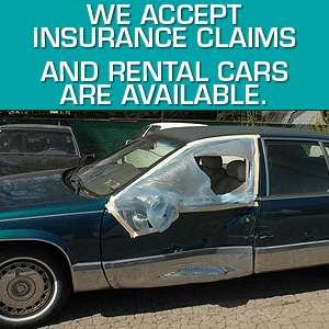 Windshield repair - Winchester, TN  - Wreck-A-Mended - damaged car window - We accept insurance claims and rental cars are available.