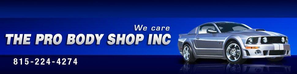 Auto Body Collision Repair Peru, IL - The Pro Body Shop Inc