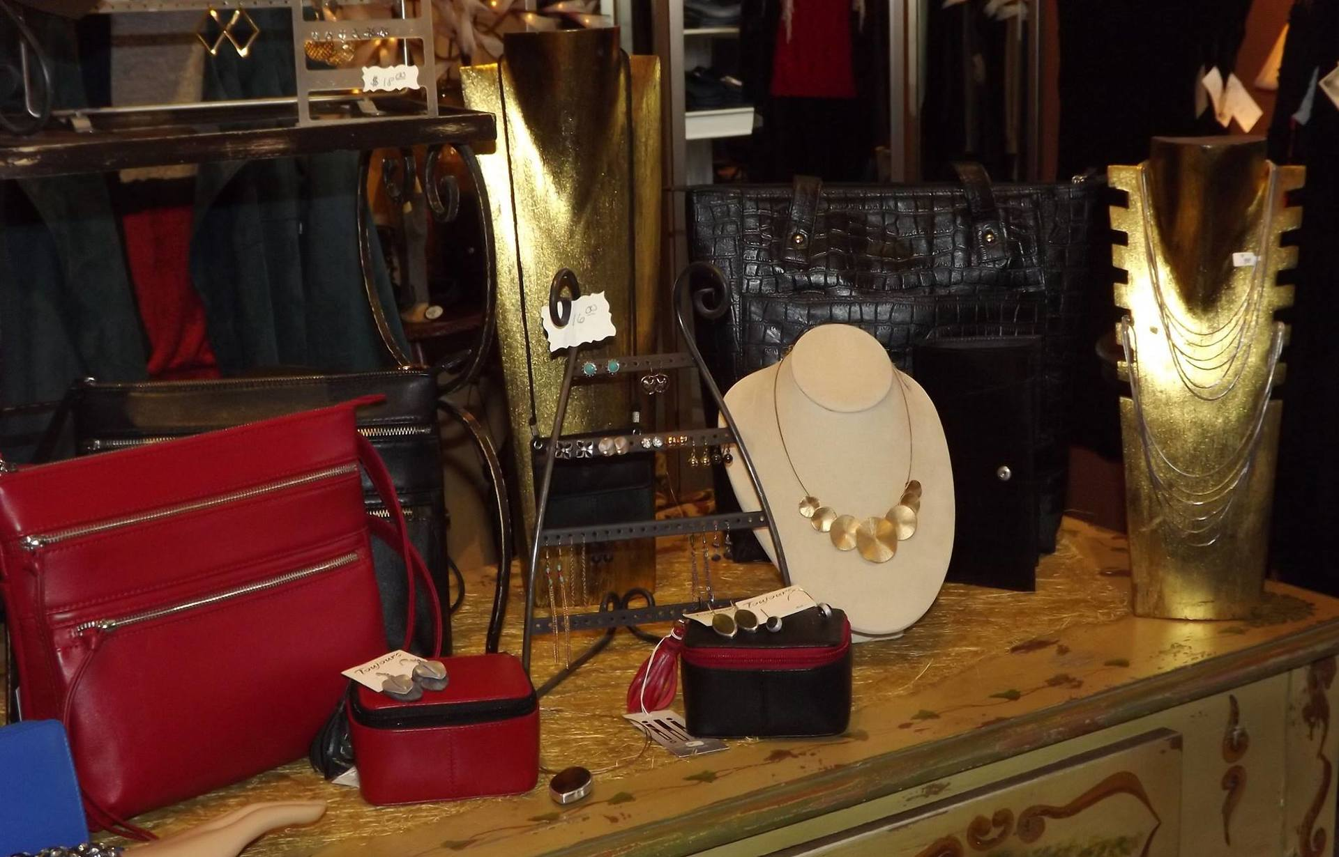 Clothing, jewelries and accessories
