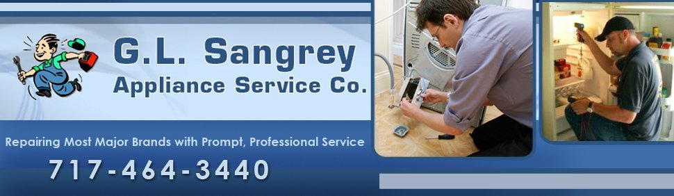 Appliance Services - Willow Street, PA - G.L. Sangrey Appliance Service Co