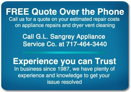G.L. Sangrey Appliance Service Co - Appliance Services - Willow Street, PA
