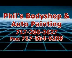 Phil's Body shop & Auto Painting Video