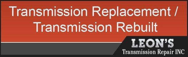 Leon's Transmission Repair INC Coupon