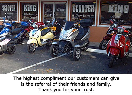 The highest compliment our customers can give is the referral of their friends and family. Thank you for your trust.