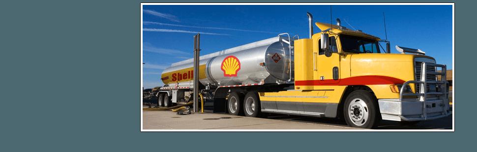 Shell Oil Truck