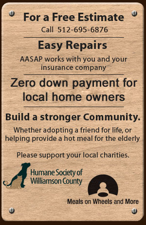 Humane Society of Williamson County | Meals on Wheels and More - Standing Seam, Metal Roof, Metal Flashing