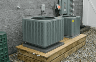 Two grey condensers