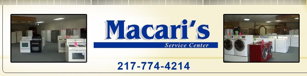 Appliance Service Center - Shelbyville, IL - Macari's Service Center