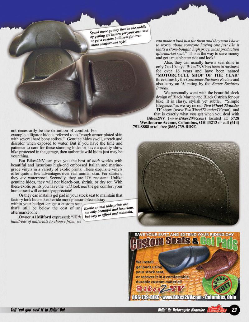 Seats Magazine Page 2