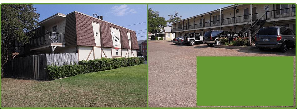 Baylor Arms | Waco, TX | University Rentals | 254-752-5691
