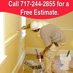 Interior Painting - Red Lion, PA - Red Lion Spray - Call 717-244-2855 for a Free Estimate.