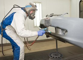 Industrial Painting - Red Lion, PA - Red Lion Spray Inc - Bumper painting