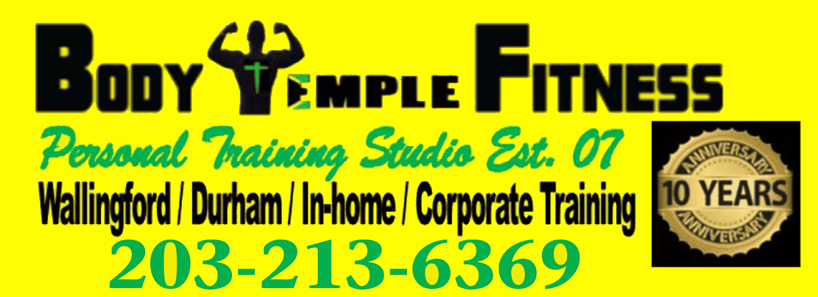 Body Temple Fitness Personal Training Studio - Logo