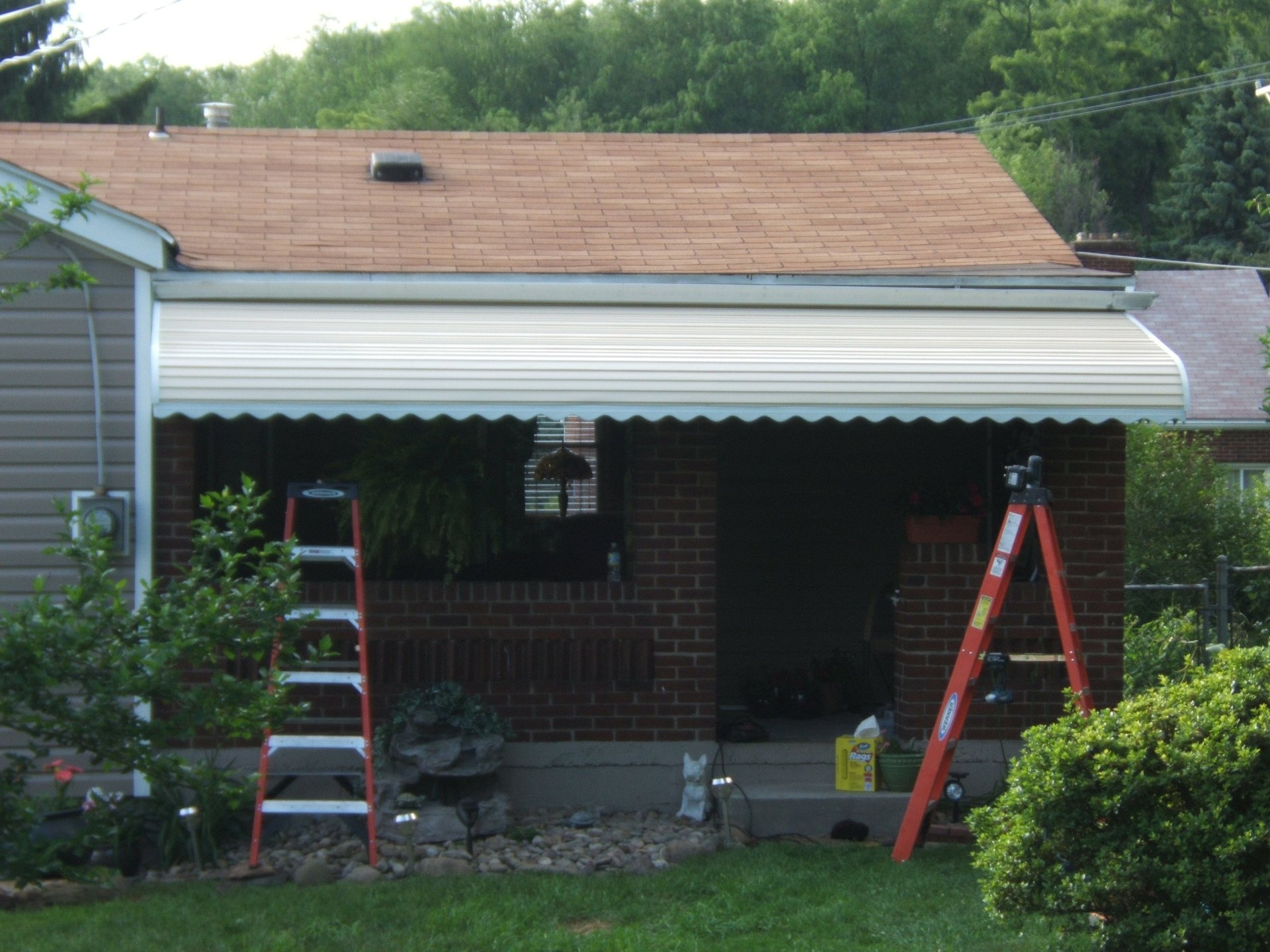 Stepdown Awnings