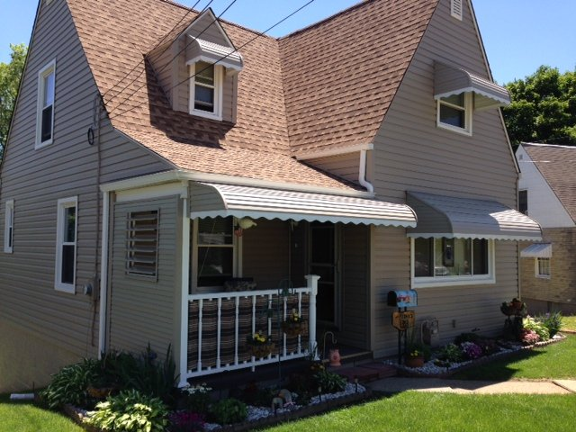 End Drop Awnings