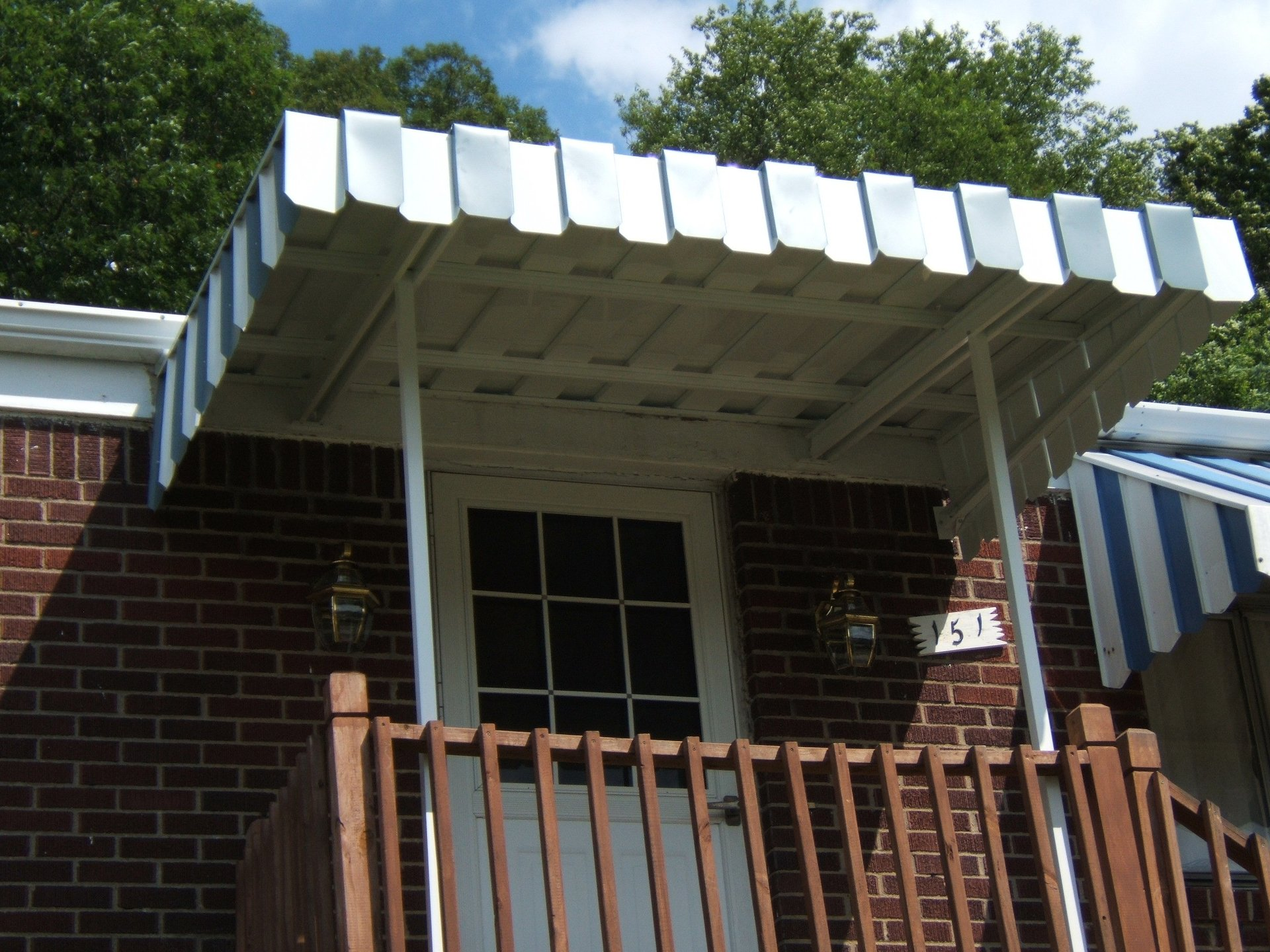 Pan Type Awnings