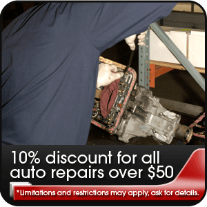 Repair - Cullman, AL - Knott's Auto Service - Tune-Ups - 10% discount for all auto repairs over $50 *Limitations and restrictions may apply, ask for details.
