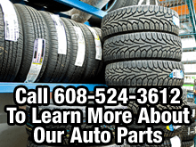 New Auto Parts  - Reedsburg,  WI  - Reedsburg Salvage/Jake's - Tires - Call 608-524-3612 To Learn More About Our Auto Parts