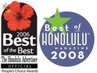 Best of Honolulu Magazine 2008 2006 Best of the Best The Honolulu Advertiser  Lic. #C-21108
