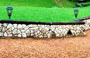 Manmade landscaping