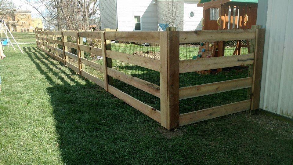 Horizontal Fences Cross Back Styles Lewisburg Oh