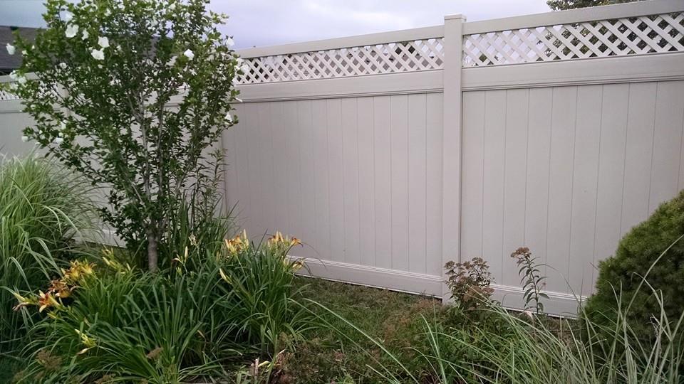 Vinyl Fence Lattice Tops Lewisburg Oh