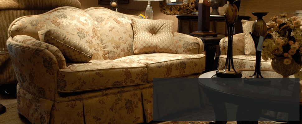 Sofa in house
