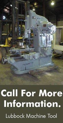 Machine Tools - Lubbock, TX - Lubbock Machine Tool