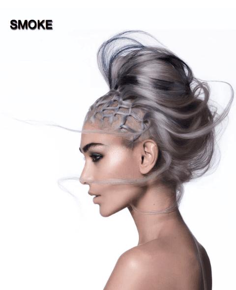 smoke hair