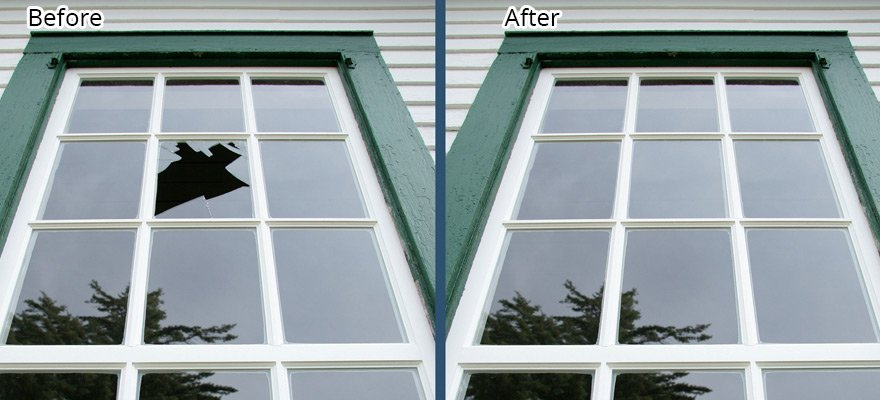Broken Window Repair