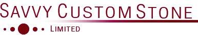 Savvy Custom Stone - logo