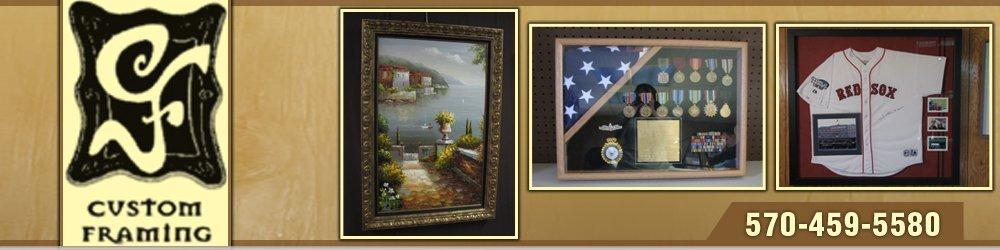 Framing Services Hazle Township, PA - Creative Finishes
