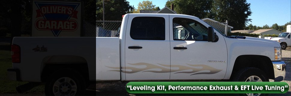 Auto body lift kits | Flushing, MI | Oliver's Garage Inc | 810-639-2889