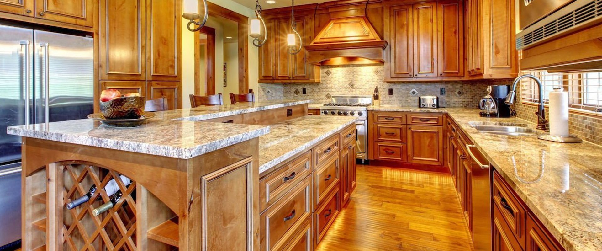granite kitchen counterrops