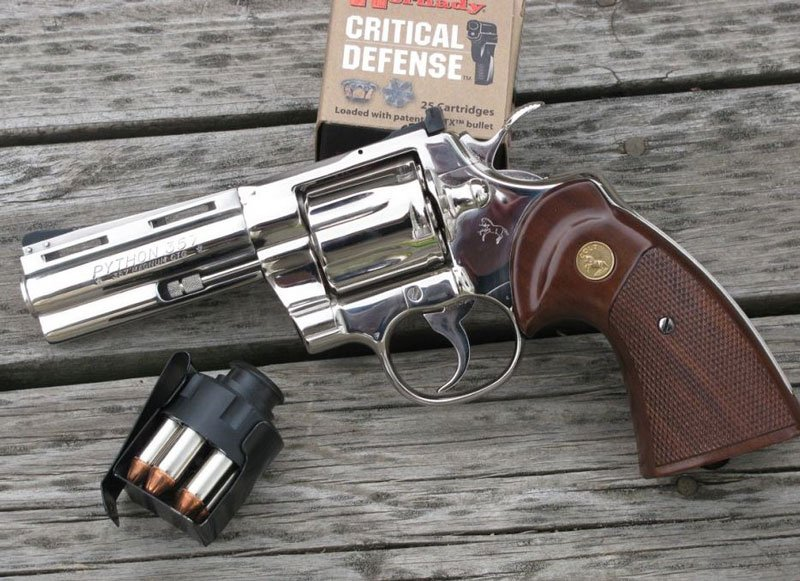 Colt Python in Bright Chrome