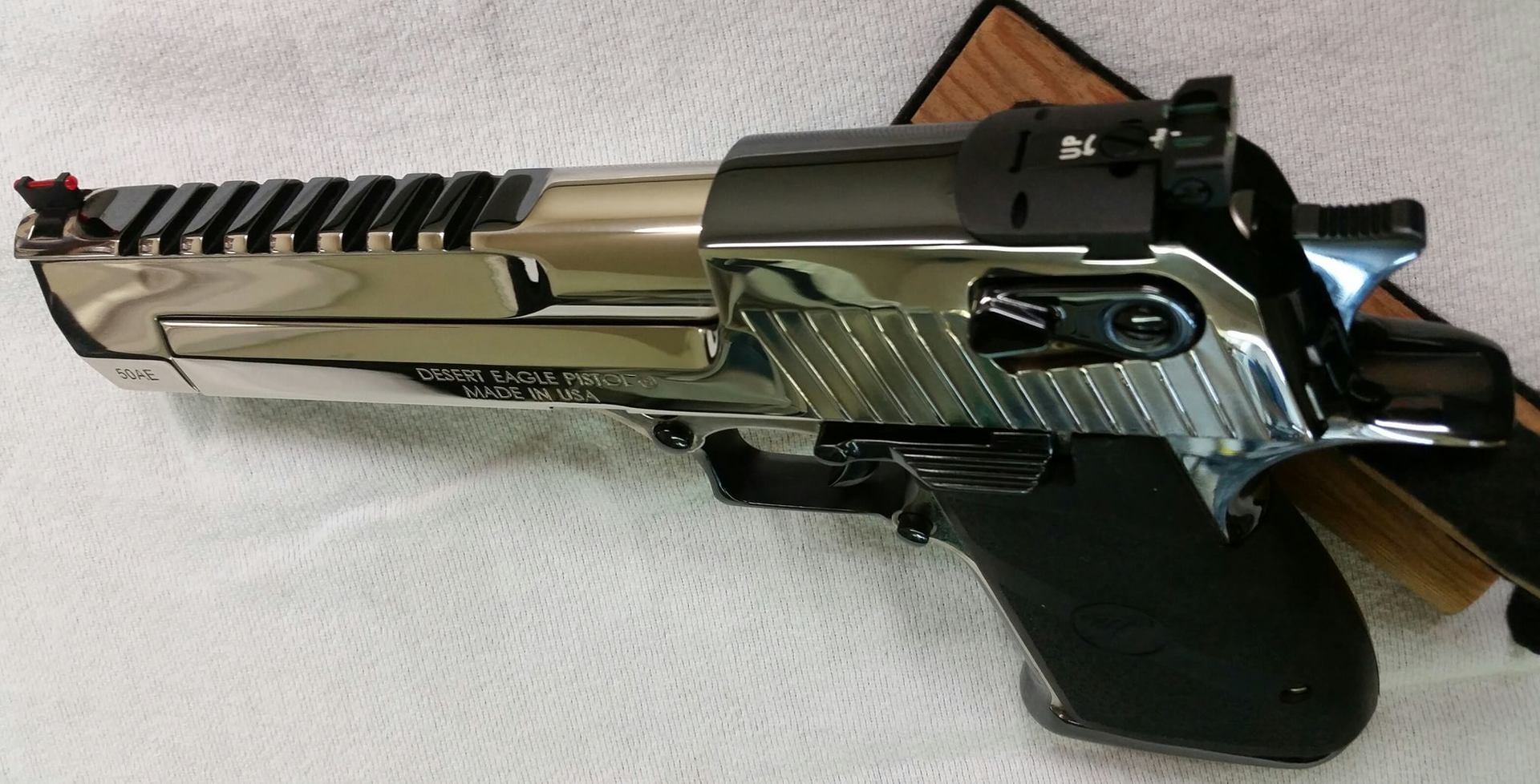 Desert Eagle in True Two-Tone Master Blue and Poli