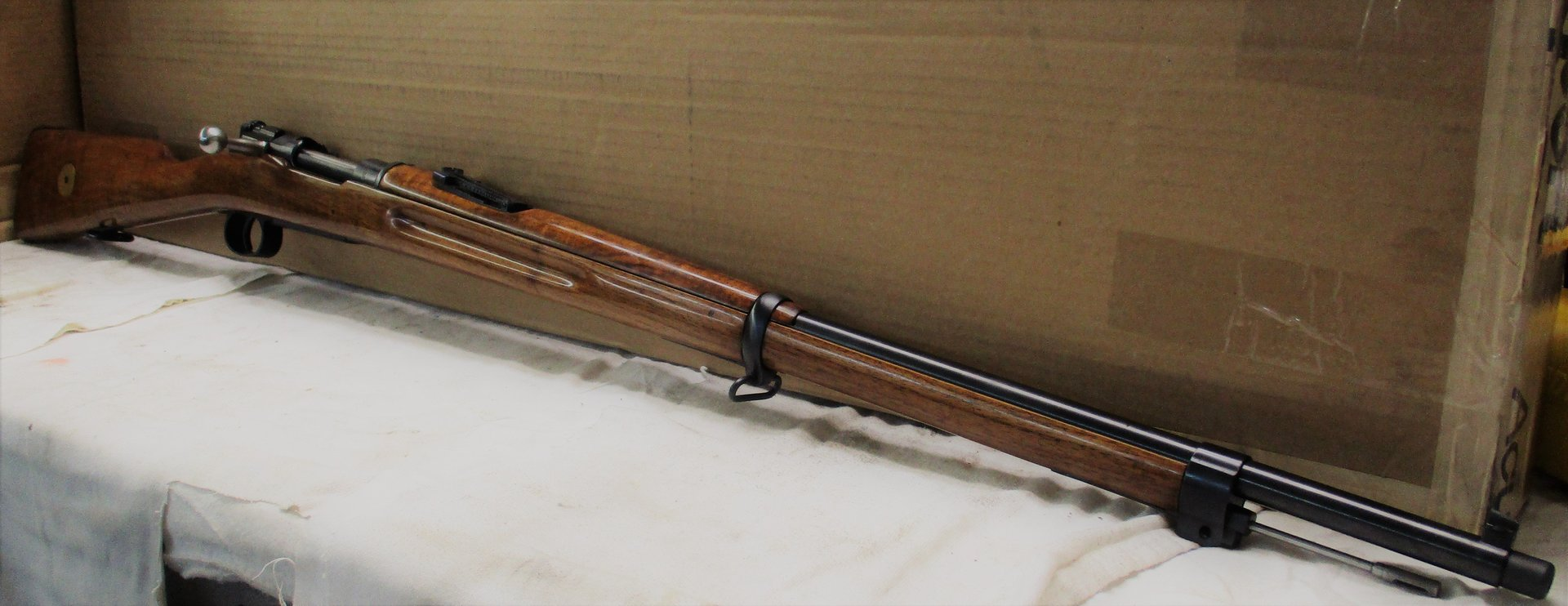 Mauser in Deluxe Blue