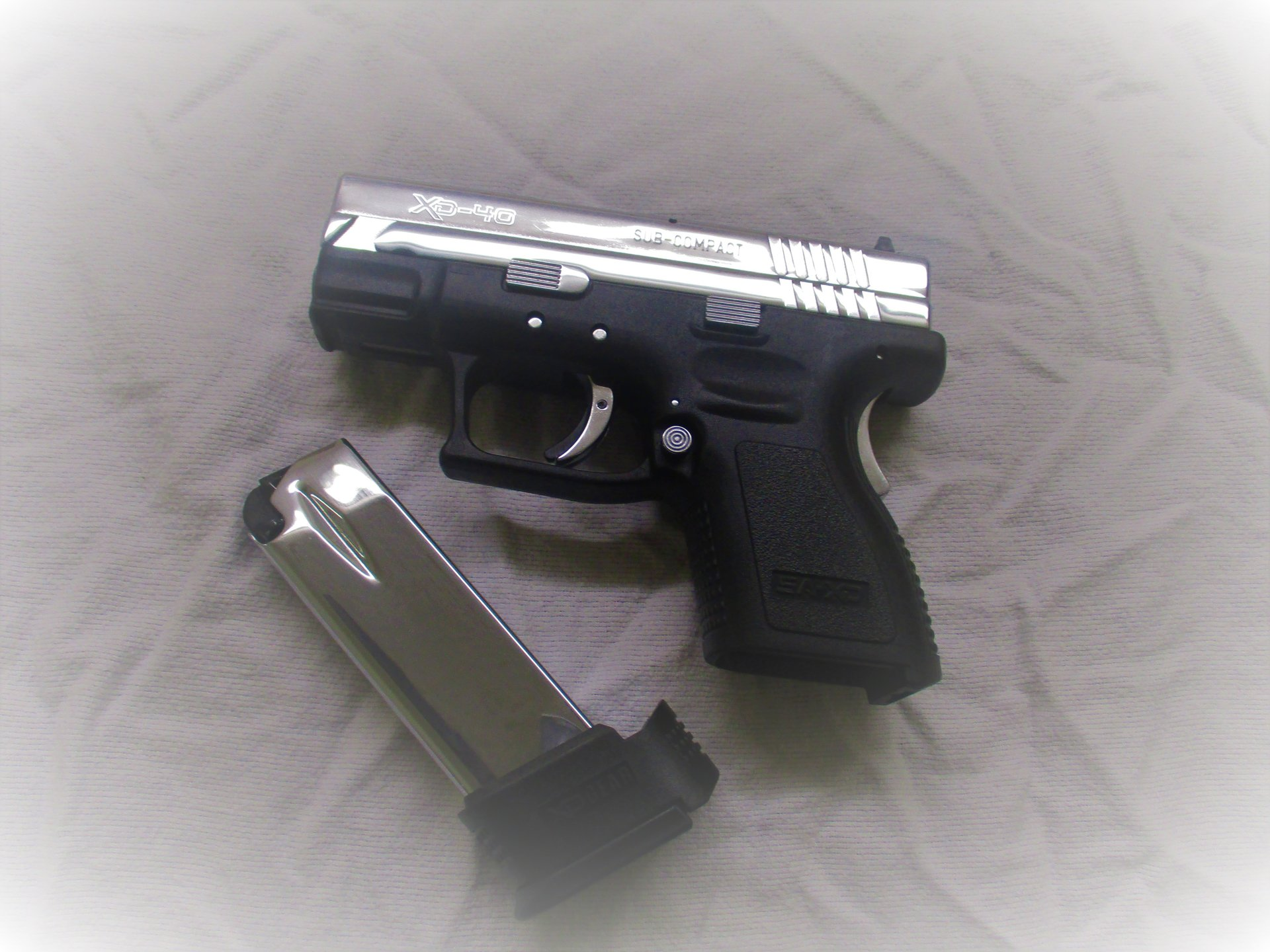 Springfield XD Polished Chome All Over