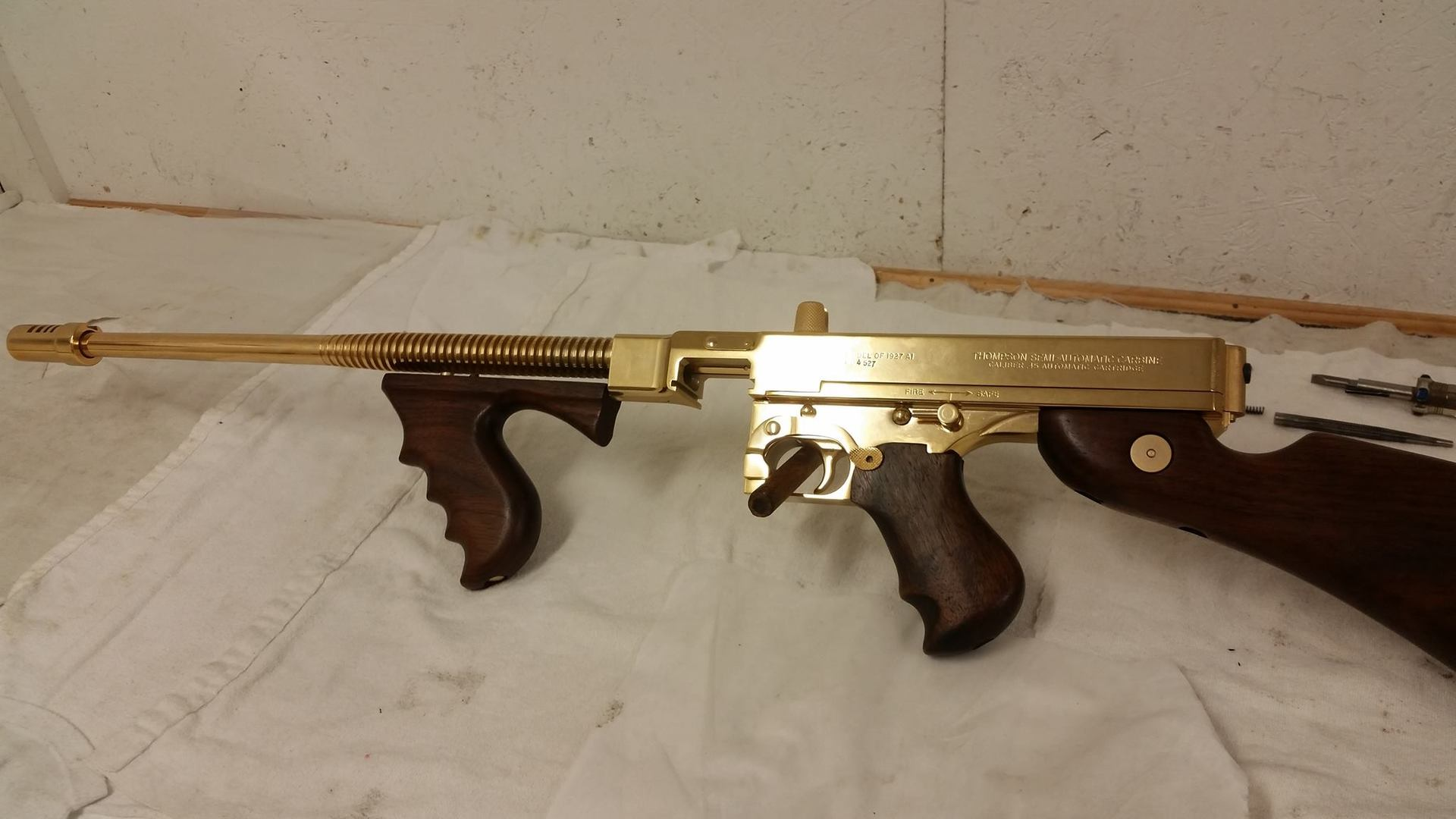 Thompson in 24K Gold