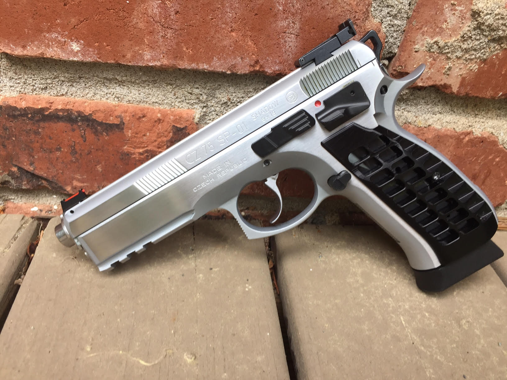 CZ Brushed Chrome